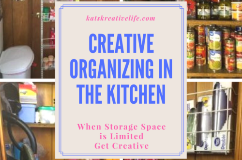 Creative Organizing in the Kitchen