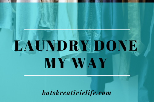 Laundry Done - My Way