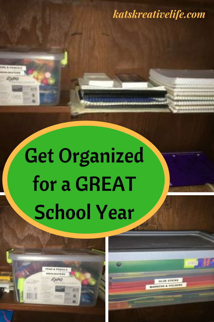 Get Organized for a Great School Year